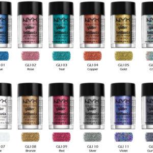Glitters/Pigmentos